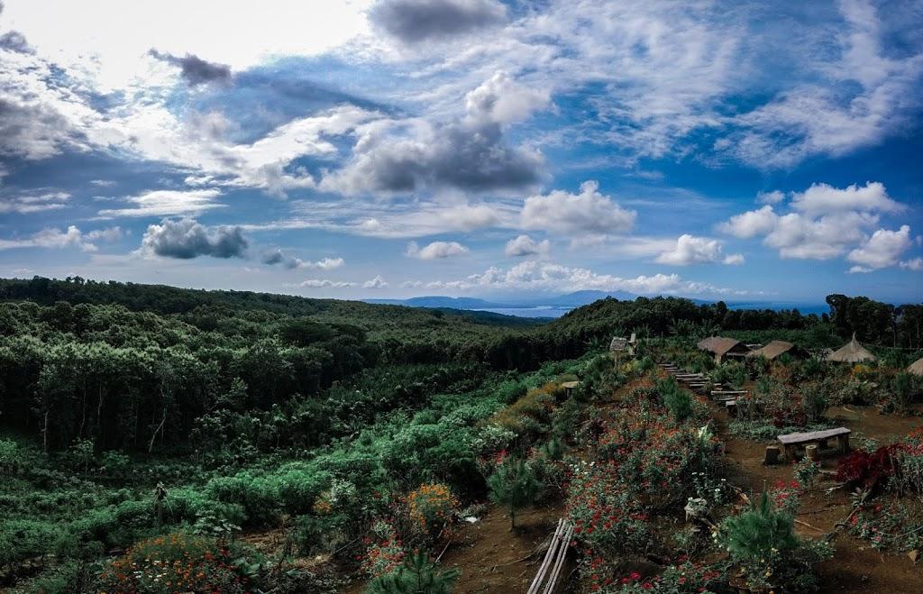 Wisata Puncak Asmoro Banyuwangi, Spot Foto Cakep Berlatar Gunung Merapi dan Selat Bali!