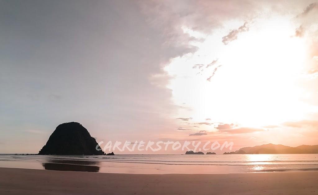 Wisata Pantai Pulau Merah Banyuwangi, Salah Satu Pantai Terindah di Banyuwangi