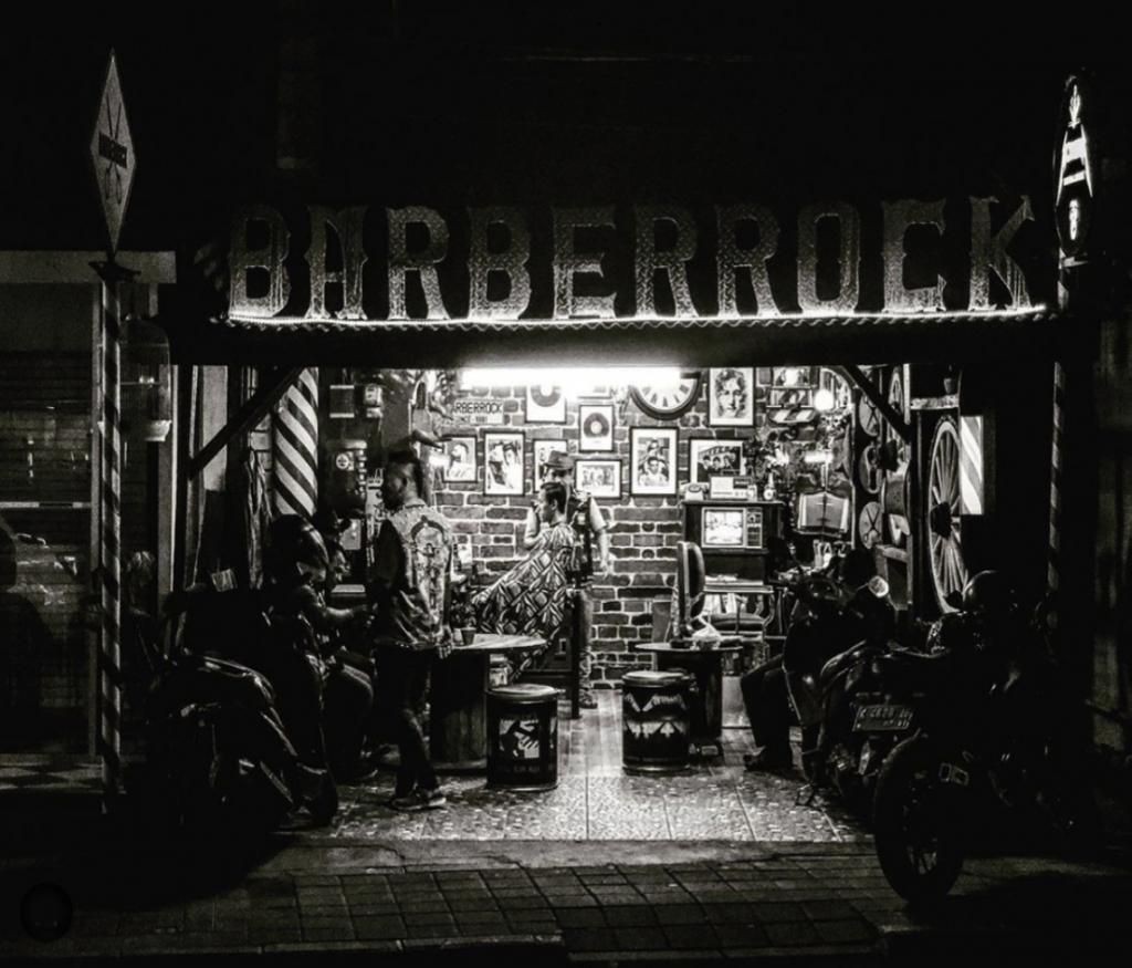 Barber Rock Bali