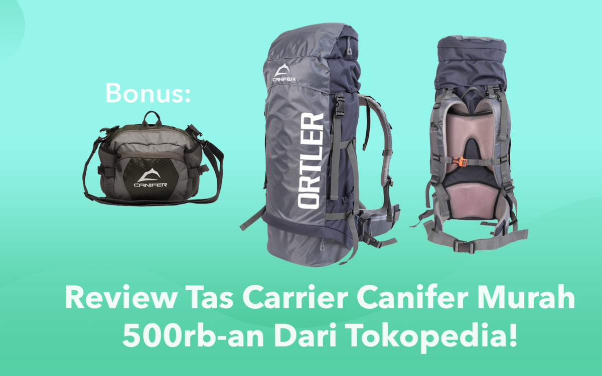 Review Tas Carrier Murah 500rb-an
